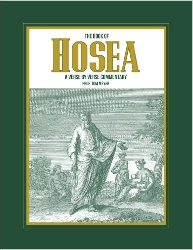 the book of hosea: a verse by verse commentary by professor thomas meyer