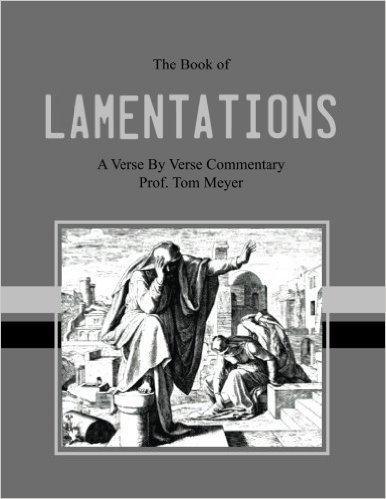 the book of lamentation: a verse by verse commentary by professor thomas meyer