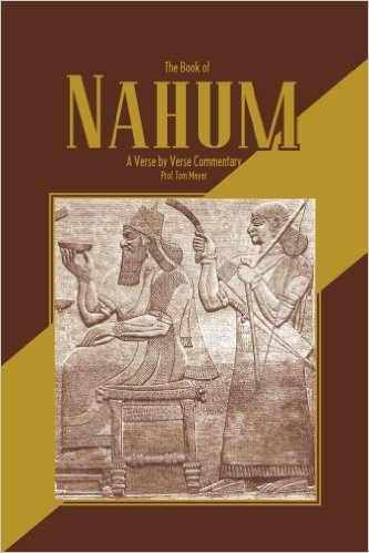 the book of nahum: a verse by verse commentary by professor tom meyer