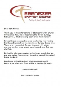 tom-meyer-wordsower-ministries-gods-word-memory-james-genesis-ebenezer-baptist-church-letter