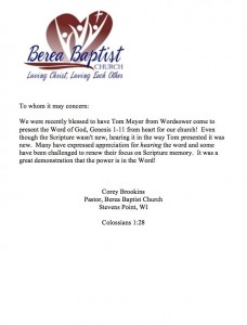 tom-meyer-wordsower-memorize-scripture-genesis-berea-baptist-church-letter