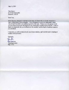 Letter Of Appreciation For Guest Speaker from www.thebiblememoryman.com