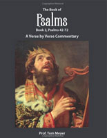 The Book of Psalms (Book 2, Psalms 42-72): A Verse by Verse Commentary