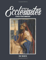 The book of Ecclesiastes: A verse by verse commentary